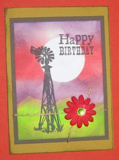 DebDuzScrappin' Scrapbooking & Rubberstamping Tutorials: Homestead GTG HB card