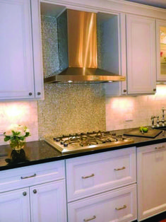 excellent stainless steel with sheets metal backsplash.Charming Kitchen Decoration Design With Stainless Steel Kitchen Backsplash : Elegant Kitchen Design Ideas With Stainless.The combination of the stainless steel backsplash and the… Stainless Steel Kitchen, Brushed Stainless Steel, Kitchen Backsplash, Backsplash Ideas, Kitchen Decor, Kitchen Design, Elegant Kitchens, Design Of Kitchen, Kitchen Countertops
