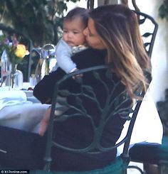 Kim and Baby North West