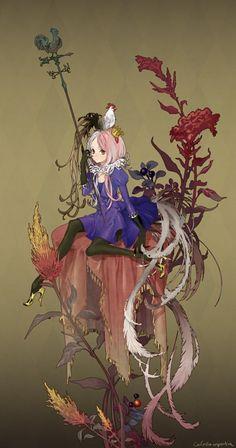 minh họa nghệ thuật anime 8126