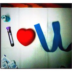 I love you-- Phlebotomy style; I'll definetly be taking a shot like this of my own :) Medical Careers, Medical Humor, Medical Assistant, Phlebotomy Humor, Lab Humor, Med Lab, Medical Laboratory Science, Lab Tech, Medical Field