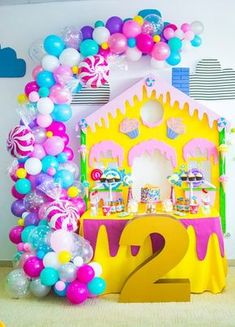 The most important ingredient to a succesfull kids birthday party themes is organaization. Like most projects, birthday party planning . Candy Theme Birthday Party, Candy Land Theme, Girl Birthday Themes, Candy Party, Birthday Parties, Birthday Ideas, 2nd Birthday, Turtle Birthday, Turtle Party
