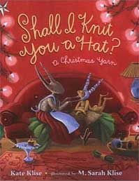 """Best Children's Christmas Picture Books By Elizabeth Kennedy: """"Shall I Knit You a Hat? A Christmas Yarn"""". Henry Holt & Co. Maybe it's the fact that the author, Kate Klise, and the illustrator, M. Sarah Klise, are sisters Christmas picture book Christmas Yarn, Christmas Books, Kids Christmas, Childrens Christmas, Childrens Books, Guidance Lessons, Children's Literature, Books To Buy, Holiday Gifts"""