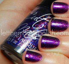 Cult Nails Seduction over Zoya Carly