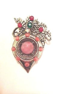 Vintage  Weiss Christmas Ornament Brooch