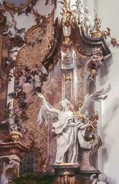 Kloster Ottobeuren arch : Johann Michael Fischer sculpt : Feuchtmayer Source by davidhmitchell Angel Aesthetic, Aesthetic Art, Aesthetic Pictures, Aesthetic Drawing, Aesthetic Grunge, Travel Aesthetic, Aesthetic Vintage, Aesthetic Anime, Baroque Architecture