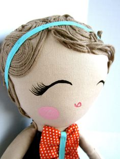 Custom Classic Cloth Doll by Mend