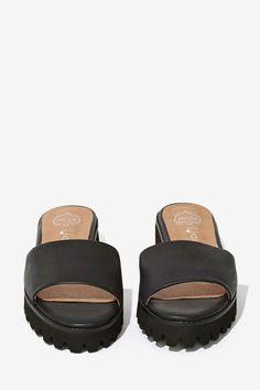 Jeffrey Campbell Doheney Leather Sandal - Flats | Jeffrey Campbell |