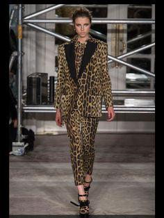 Moschino AW13 leopard