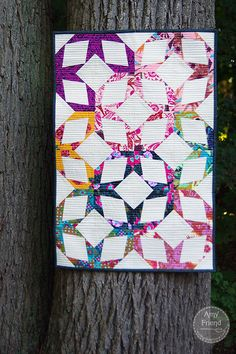 Fantastic paper pieced pattern by Amy Friend