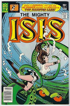 1977 DC Comics The Mighty Isis