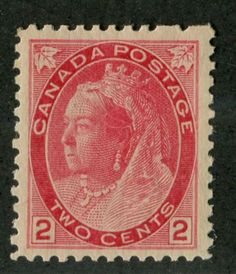 Canada-77-2c-Pale-Carmine-Red-1898-1902-Numeral-Issue-Toned-Paper-VF-78-NH