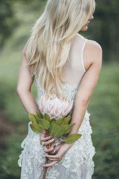Pink-protea-bouquet