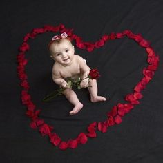 102 Best Valentines Day Themed Baby Photo Shoot Images On Pinterest