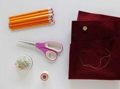 Lovely Pencil Clutch l #fashion #accessory #DIY