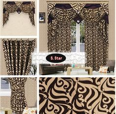 Custom size+print+cheap made to measure curtains,sheer,valance+wholesale/dropship cl501-in Curtains from Home & Garden on Aliexpress.com
