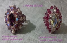 Due varanti di colori dell'anello Adagio. Rings Adagio: two colors