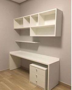 Best DIY Crafts For Teen Girls Bedroom Ideas Shelves .- Best DIY crafts for teen girls bedroom ideas shelves ideas, - Furniture, Shelves, Interior, Bedroom Design, Bedroom Diy, Home Decor, Home Office Shelves, Bedroom Desk, Trendy Home