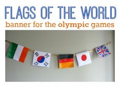 15 Olympic Crafts and Activities - No Time For Flash Cards