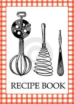 Image Result For Free Clipart Recipe Book