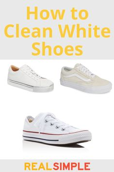 668c2638e0ad9f How to Clean White Shoes-Whether They re Canvas