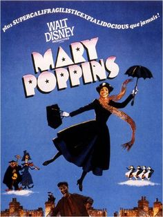 Mary Poppins- could totally make a cool poster decoration!