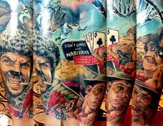 Realistic Movies Tattoo by Zsofia Belteczky | Tattoo No. 12204