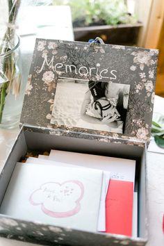 Kartenbox für die Hochzeitspost bei der Hochzeit. Foto: http://frauherz.de