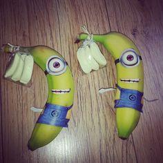 Traktatie minion banaan