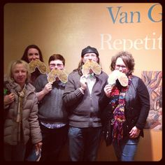 So fun to see art friends at the Van Gogh exhibit! If you haven't been, you have to GOGH!!! #awesomeart #instavangogh (from @LeAnne Poindexter)