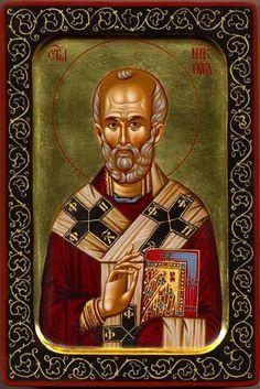 Saint Nicholas the Wonderworker / Ἅγιος Νικόλαος ὁ Θαυματουργός      http://www.theorthodoxicon.com/