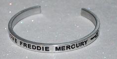 I Love Freddie Mercury | Engraved Handmade Bracelet By Say It and Wear It Jewelry - #love