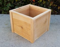 Items similar to Free Shipping - SET OF TWO Square Foot Cedar Planter Box for your Organic Garden - Made in Costa Mesa on Etsy