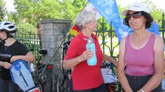68 Years Young ~ Christa's 2012 Belarus to Poland Bike for Peace Tour