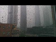 Rain Pounding On City Window Glass - 8 Hours Sleep Sound Thunder - YouTube