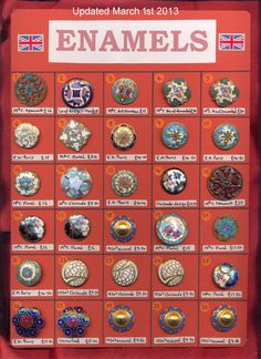 ButtonArtMuseum.com - enamel buttons of old