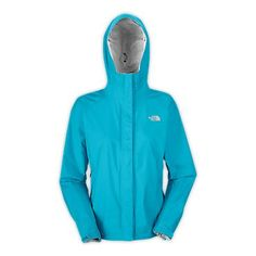 The North Face Women's Jackets & Vests WOMEN'S VENTURE JACKET Turquoise!!