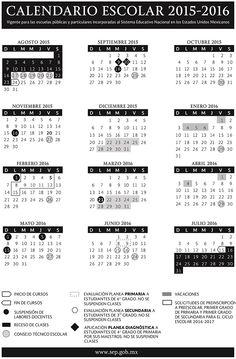 Publican calendario escolar para ciclo 2015-2016 | Alto Nivel