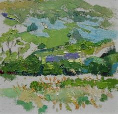 A small oil on canvas painting of an Irish countryside scene. The painting shows a house hidden among the trees set in front of a hillside in rich green. A typical Co Kerry landscape painted near the artist's home. #Irishlandscape #kerrylandscape #landscapeireland #landscapepaintingireland #landscapepaintingsireland Oil Painting Abstract, Acrylic Painting Canvas, Painting Frames, Oil On Canvas, Irish Landscape, Contemporary Landscape, Your Paintings, Landscape Paintings, Garden Painting
