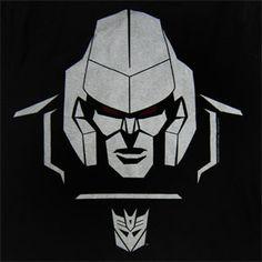 Exclusive - TRANSFORMERS T-Shirt - MEGATRON HEAD - T-Shirts / Shirts - TRANSFORMERS - Labyrinthe Rock