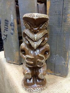 Happy Mugday! Teko Teko mug by Crazy Al Evans and Tiki Farm is now available at Mahalo Tiki.