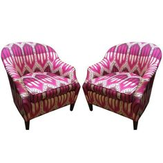 Image of Schumacher Chairs - A Pair
