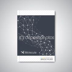 Современные абстрактный шаблон макет брошюры, журнал, листовка, буклет, крышка или отчета в формате A4 для вашего дизайна и ваш текст. Векторные иллюстрации — Векторная картинка #66322797