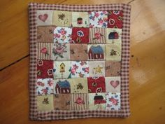 Miniature country quilt