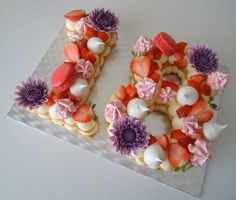 Number 8 cake