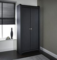 Lovely Genial schwarzer kleiderschrank