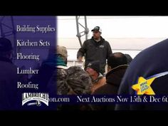 Building Material Auctions - Lambrecht Auction, Inc. Walton, NY