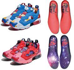 Reebok's Instapump Fury sneakers to get a Gundam makeover!