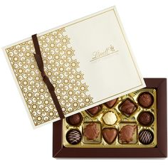 Gourmet Truffles & Pralines Gift Box. Box and sleeve supplied by Encore Intl.