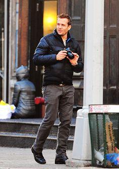 Gabriel Macht Harvey Specter Suits, Suits Harvey, Gabriel Macht, Sweet November, Real People, Handsome, Fall Season